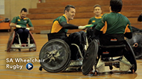 Second Runner Up: South Africa Wheelchair Rugby